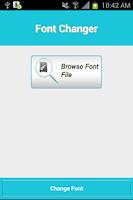 Screenshot of Font-oosh: Font Installer