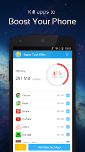 Super Task Killer-Fast Booster - screenshot thumbnail