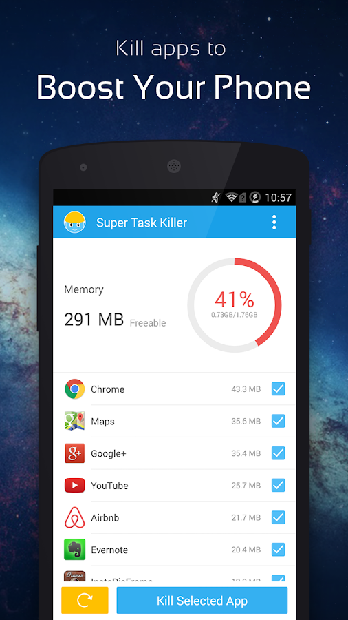 Super Task Killer-Fast Booster - screenshot