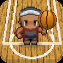 Basketball fun spin game icon