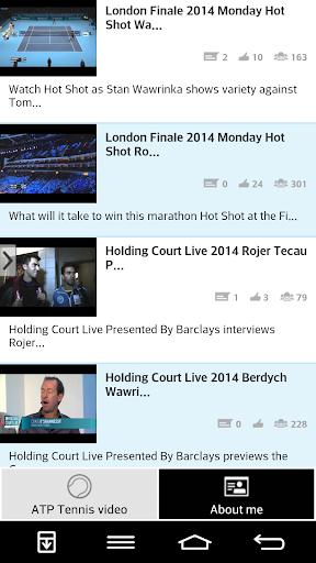 ATP Tennis video