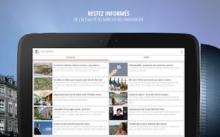 Screenshot of Explorimmo – Immobilier