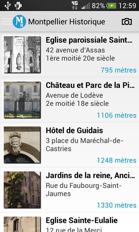 Montpellier Historique - screenshot