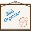 Bills Organizer with Sync icon