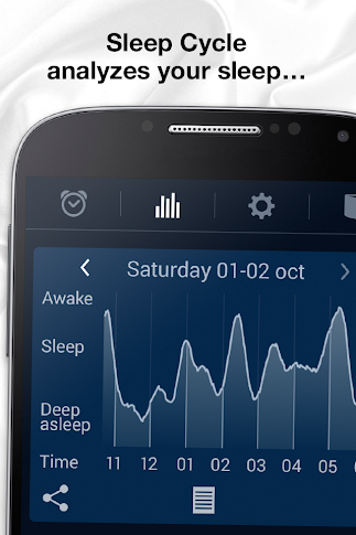 Sleep Cycle alarm clock - screenshot