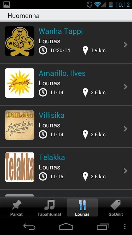 Huvi.info- screenshot