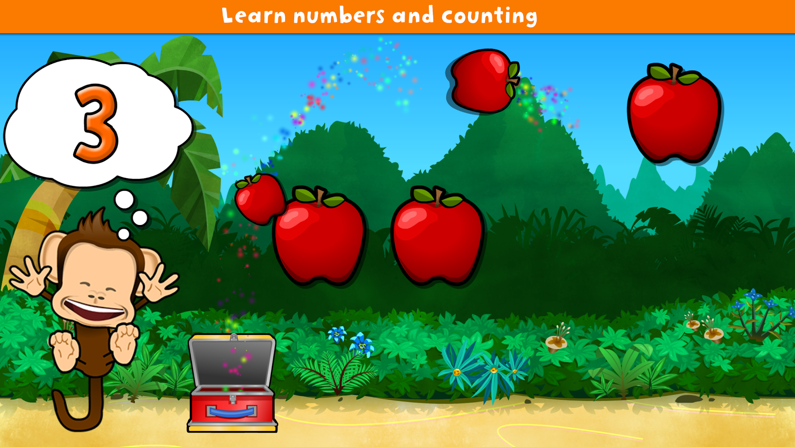 Monkey Preschool Lunchbox- screenshot
