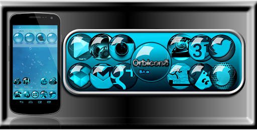 Icon Pack Blue HD OrbiconS