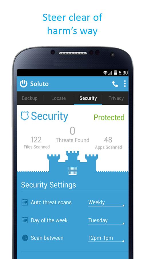Soluto - screenshot