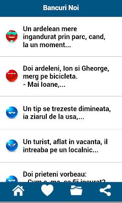 Bancuri Noi - screenshot