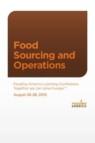 Food Sourcing Operations '13