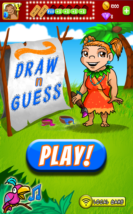 Draw N Guess Multiplayer - screenshot