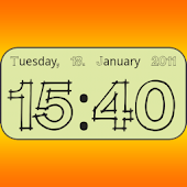 Clock Widget digital