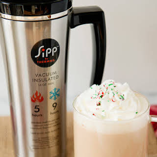 White Chocolate Peppermint Mocha.