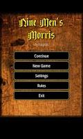 Screenshot of Nine Men's Morris