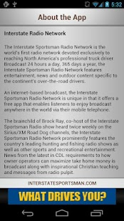 Interstate Sportsman Radio- screenshot thumbnail