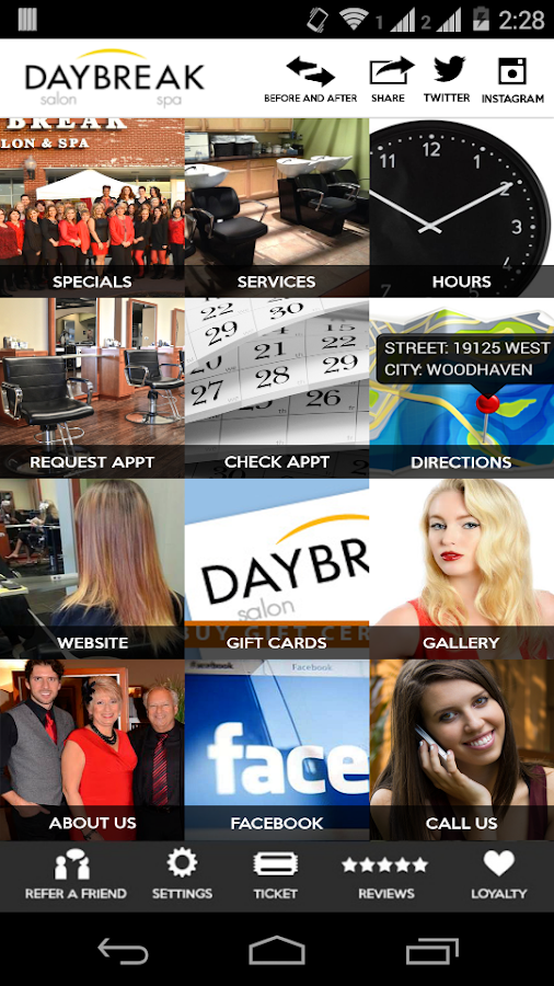 Daybreak Salon and Spa- screenshot