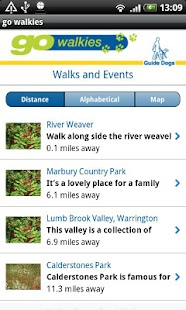go walkies for Guide Dogs - screenshot thumbnail