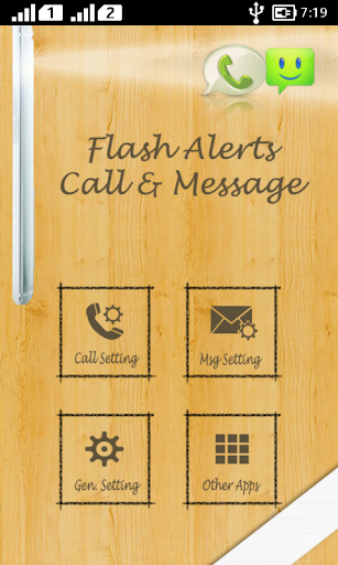 Flash Alerts - Call And SMS