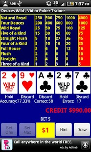 Video Poker - Deuces Wild - screenshot thumbnail