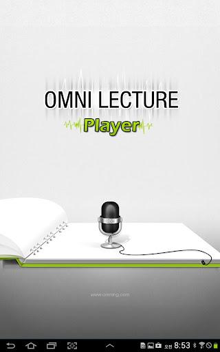 Omni Lecture Player