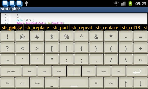 Programmer Keyboard Screenshot