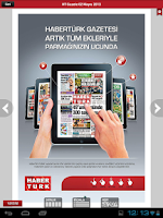 Screenshot of Gazete Haberturk