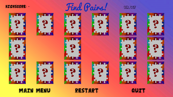 Memory Game Plus: Match Items- screenshot thumbnail