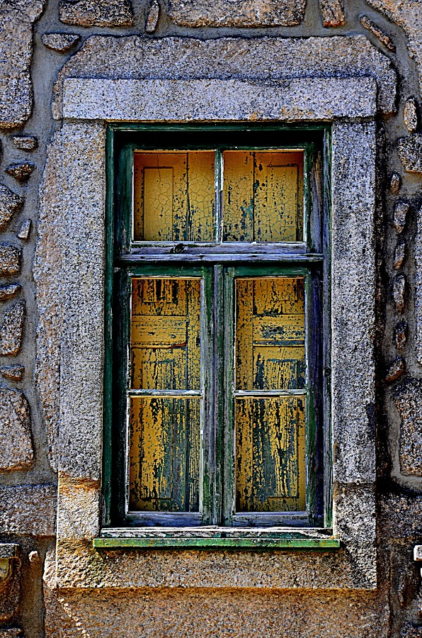 Old Window by Fernanda Magalhaes - Buildings & Architecture Architectural Detail (  )
