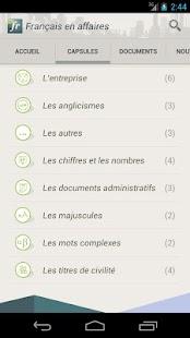 Français en affaires - screenshot thumbnail