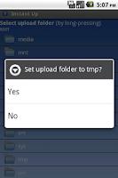 Screenshot of Instant Upload Donate Key