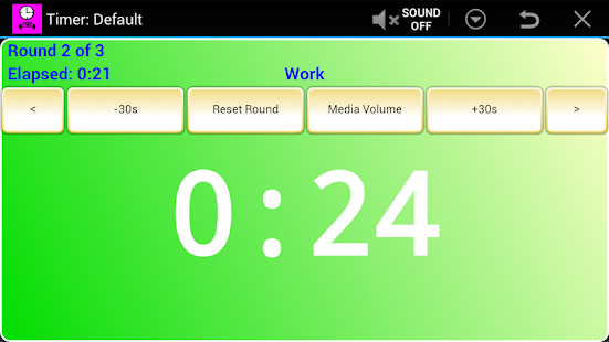 Workout Timer - screenshot thumbnail
