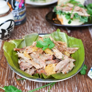 BBQ Hawaiian Kalua Pork Shoulder