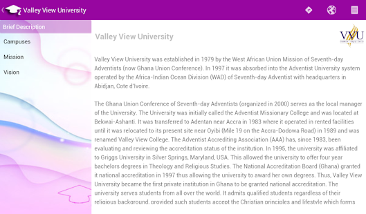 Universities of Ghana- screenshot thumbnail