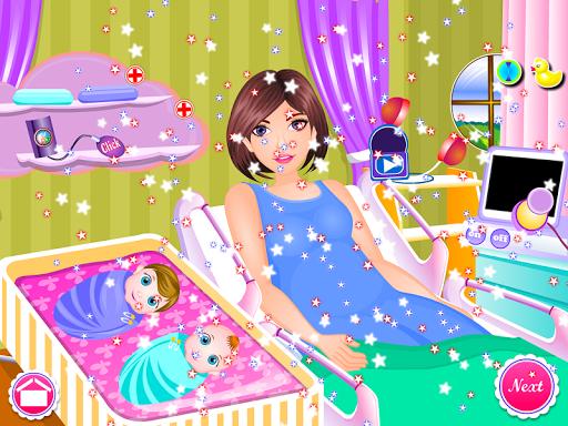 Newborn twins girls games 8.0.2 screenshots 5
