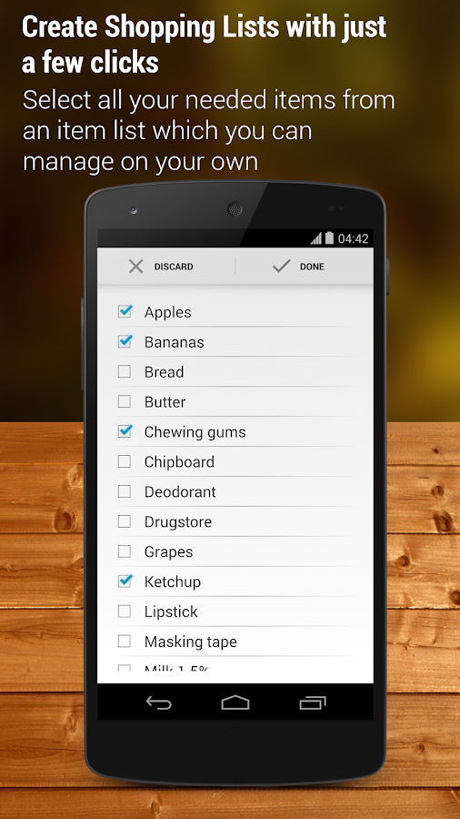 Shopping List - Pro- screenshot