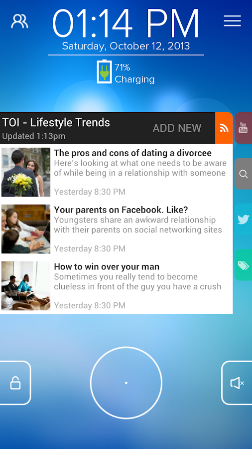 TOI Lifestyle - Start RSS - screenshot