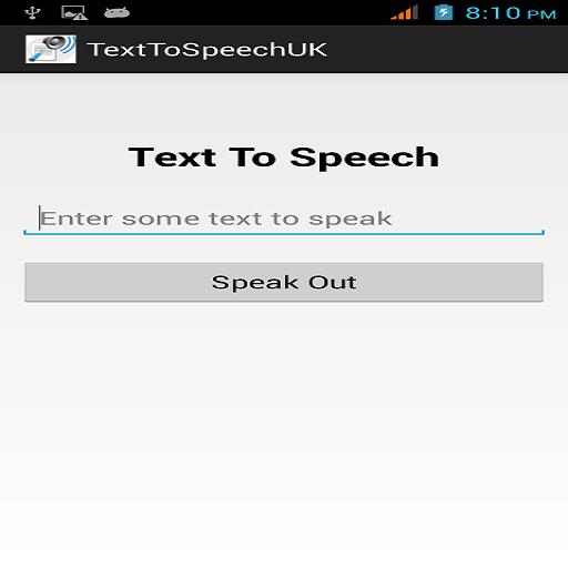 Text To Speech UK 通訊 App LOGO-APP試玩