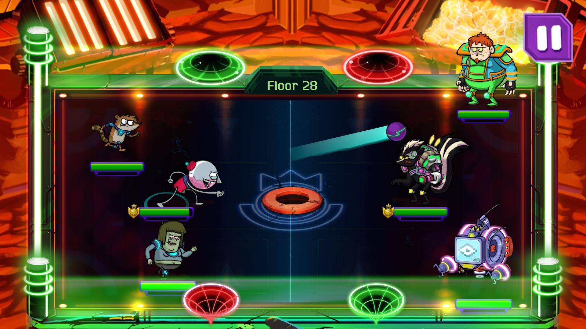 Grudgeball - Regular Show screenshot #3