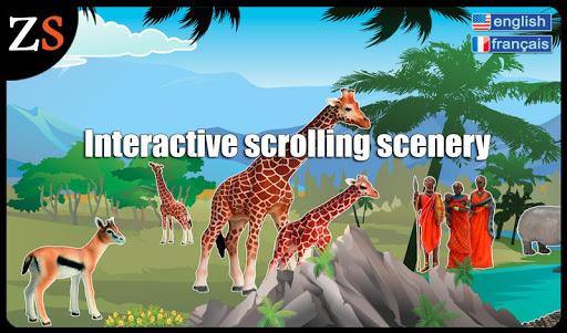 Animals of Africa Ad free
