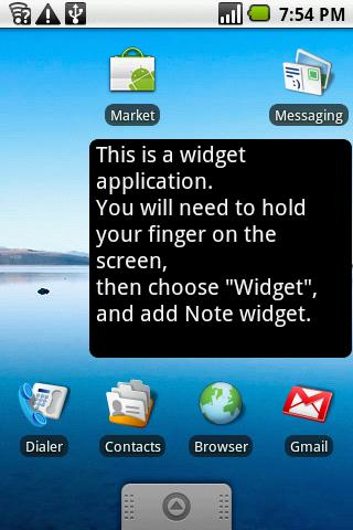 Note (free) - screenshot