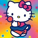 Hello Kitty Black Wallpapers icon