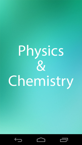 Physics Chemistry