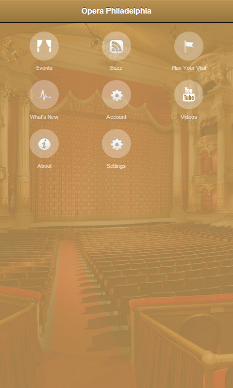 Opera Philadelphia - screenshot