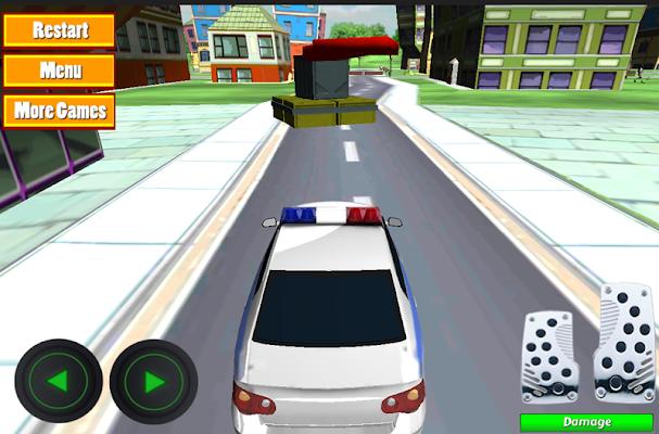 Cartoon City Police Parking 3D - screenshot