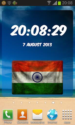 India Digital Clock