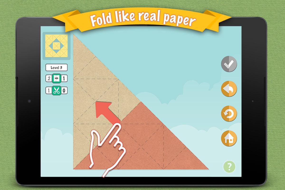 Fold & Cut- screenshot