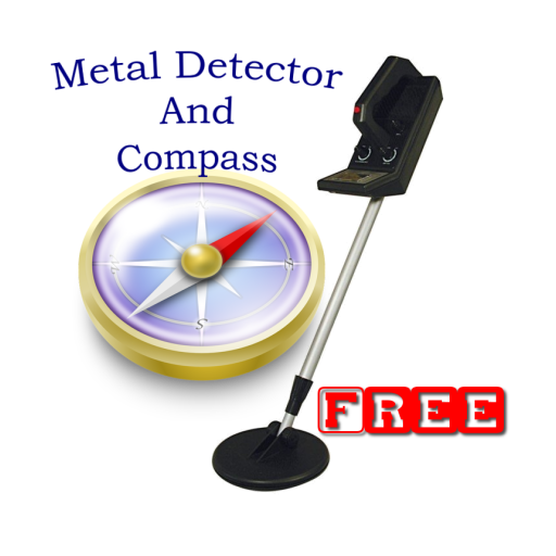 Metal Detector and Compass LOGO-APP點子