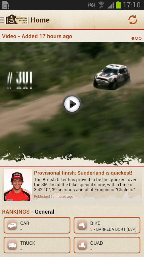 Dakar Rally 2016- screenshot