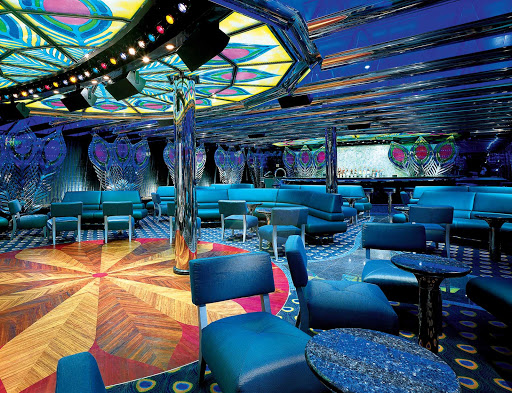 Carnival-Glory-Bar-Blue-jazz-club - Look for live music and the cocktails of your choice at Bar Blue, Carnival Glory's jazz club.